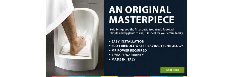 Wudhu Foot washer