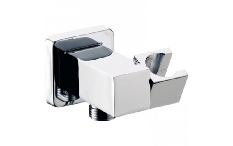 Shower Holder Square CP Daniel Italy