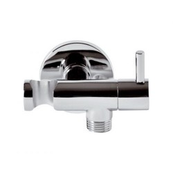 Shower Holder w/lever CP Daniel Italy