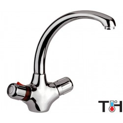 Basin Mixer THERMO Daniel Italy