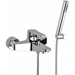 Bath mixer w/Flex Shower Omega