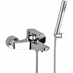 Bath mixer w/Flex Shower Omega
