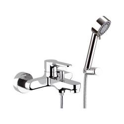 Bath mixer w/Flex Shower Winner