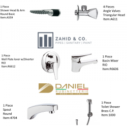 Bath Set w/Diverter RIO Daniel Italy