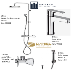 Bath Set THERMOSTATIC DANIEL Italy