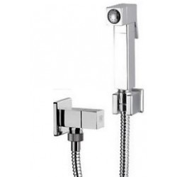 Toilet Shower Brass Square Daniel Italy