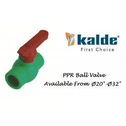 Ball Valve PPRC Kalde Turkey (PN-25)
