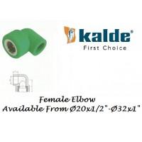 ELBOW Female Thd. PPRC Kalde Turkey (PN-25)