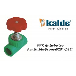 Gate Valve PPRC Kalde Turkey (PN-25)