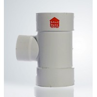 Reducing Tee 87.5° uPVC Smart Home Egypt