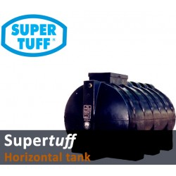 Storage Tank Horizontal Black Polyethylene