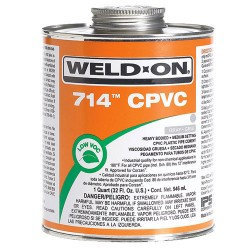 WELD ON CPVC Solution 714 USA