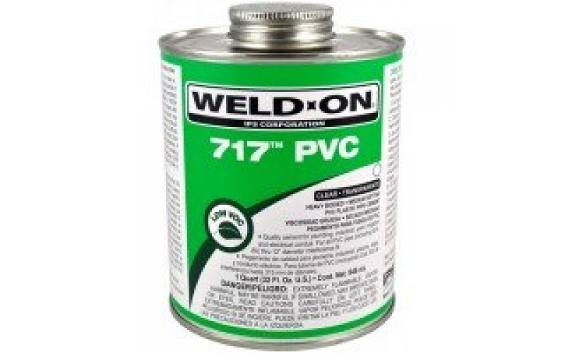 WELD ON UPVC Solution 717 USA
